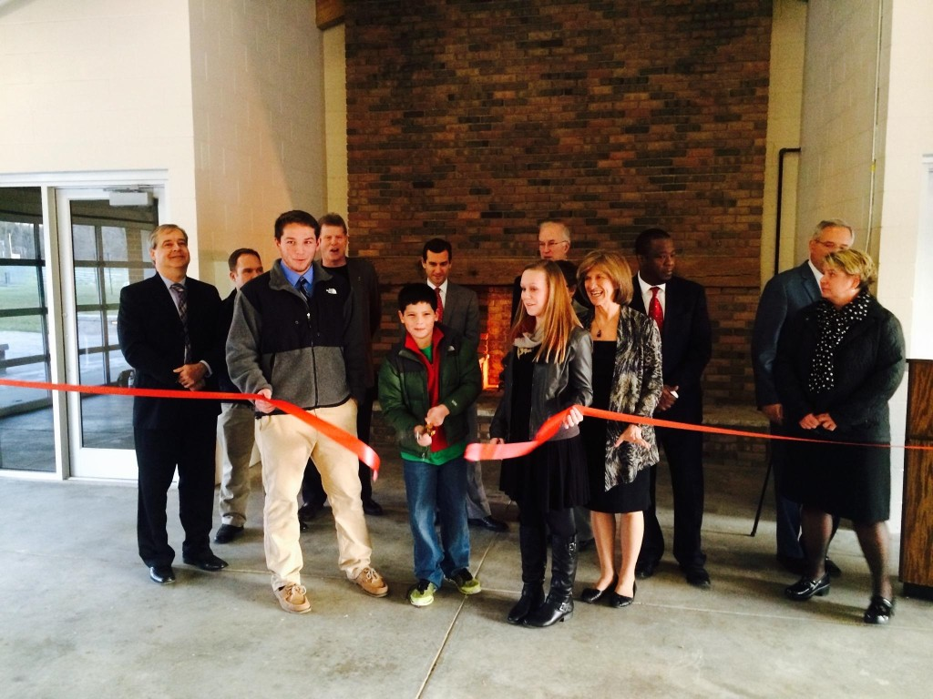 mirolo pavillion ribbon cutting 1
